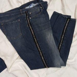 Gap bling jeans
